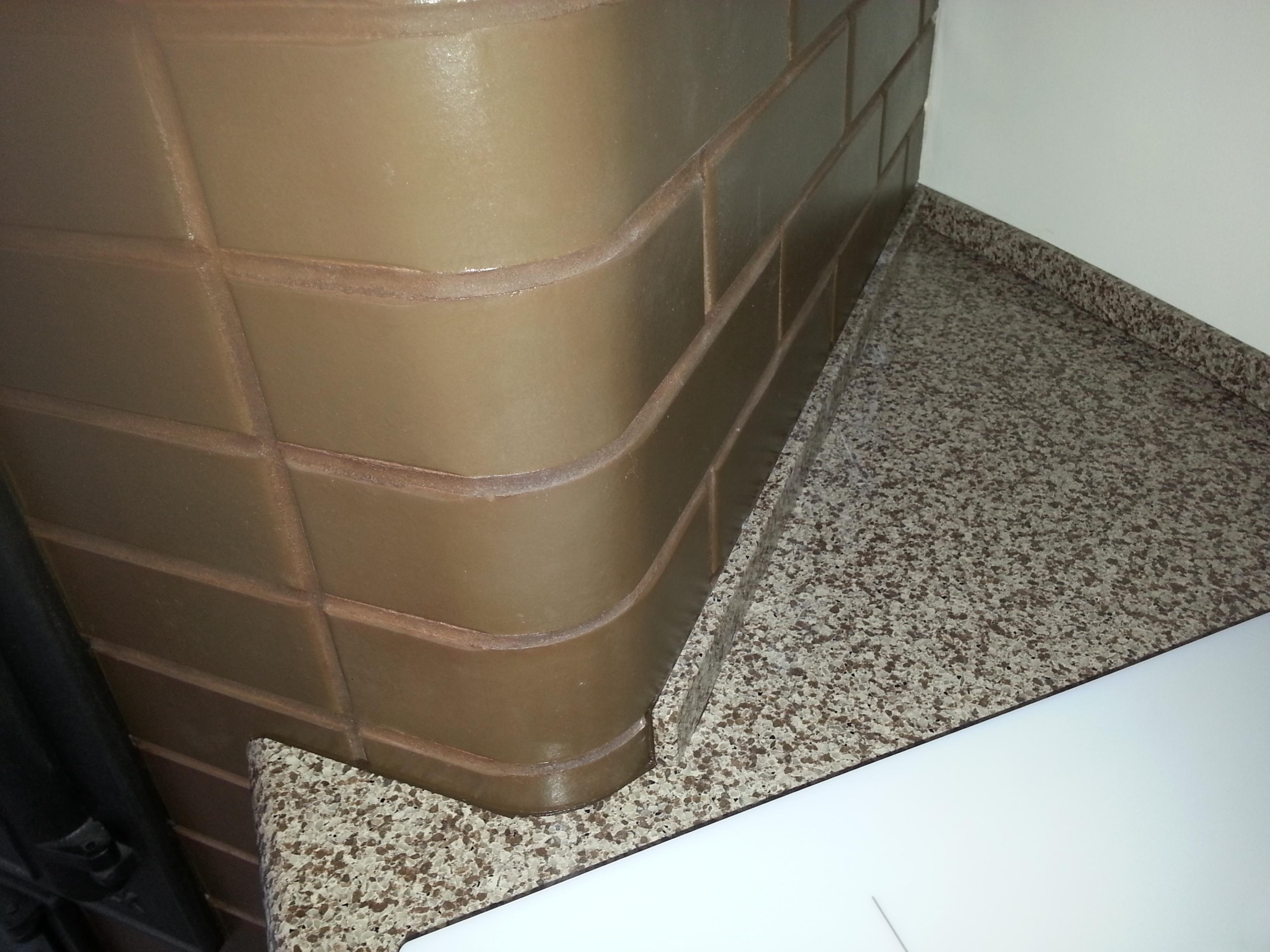 Столешницы из искусственного камня в Москве на заказ